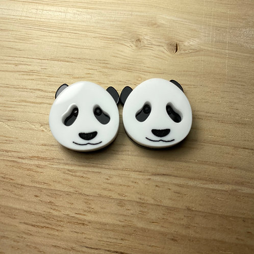 Harold The Panda Earrings