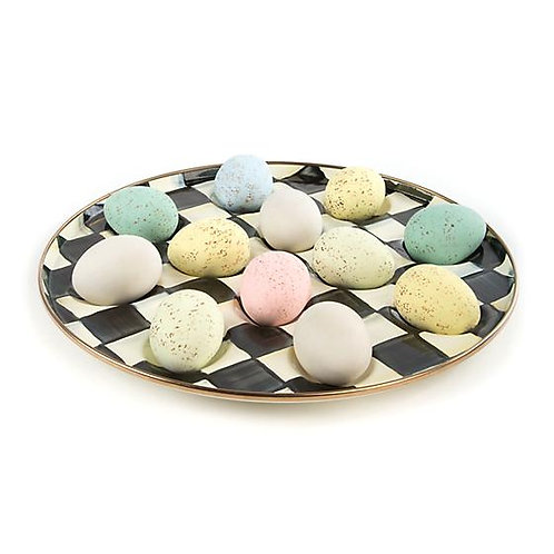 Courtly Check Egg Plate