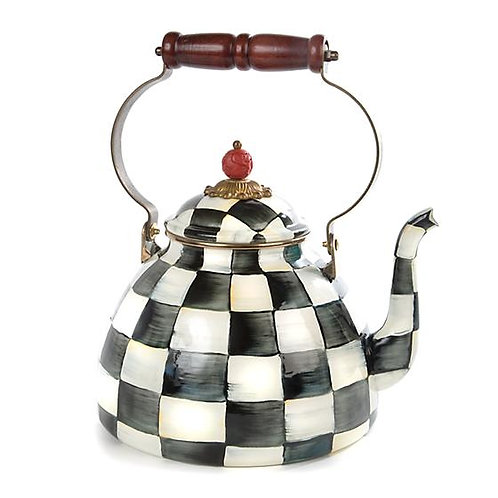 Courtly Check Tea Kettle - 3 Qt.