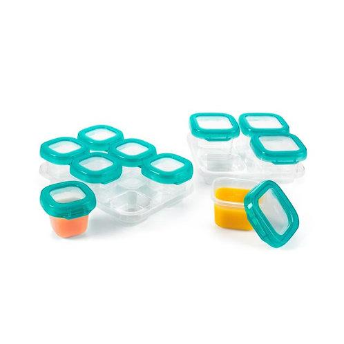 12 Piece Baby Blocks Freezer Storage Container Set