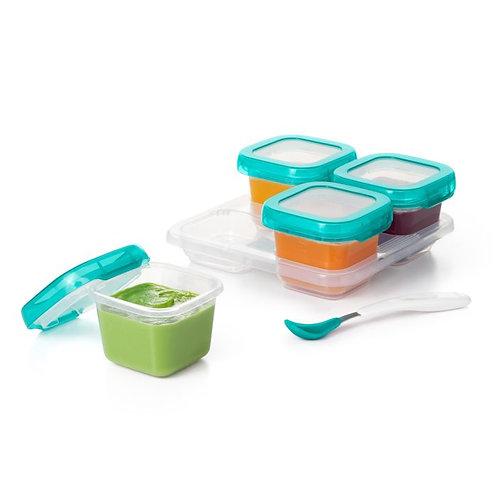 6 oz Baby Blocks Freezer Storage