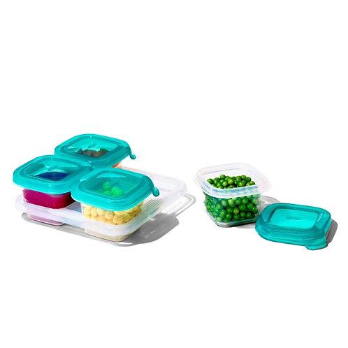 4 oz Baby Blocks Freezer Storage