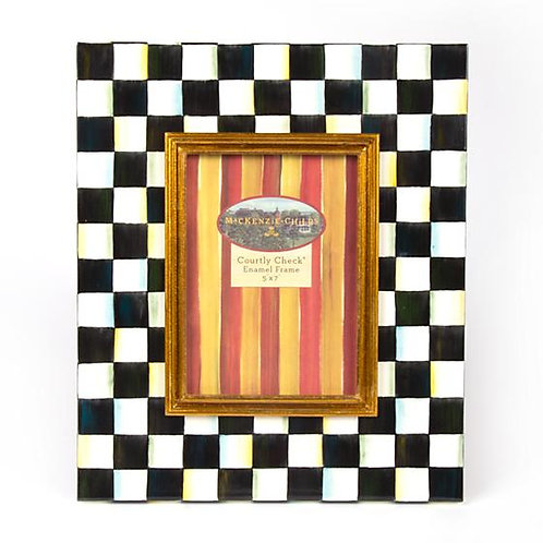 Courtly Check Picture Frame - 5x7