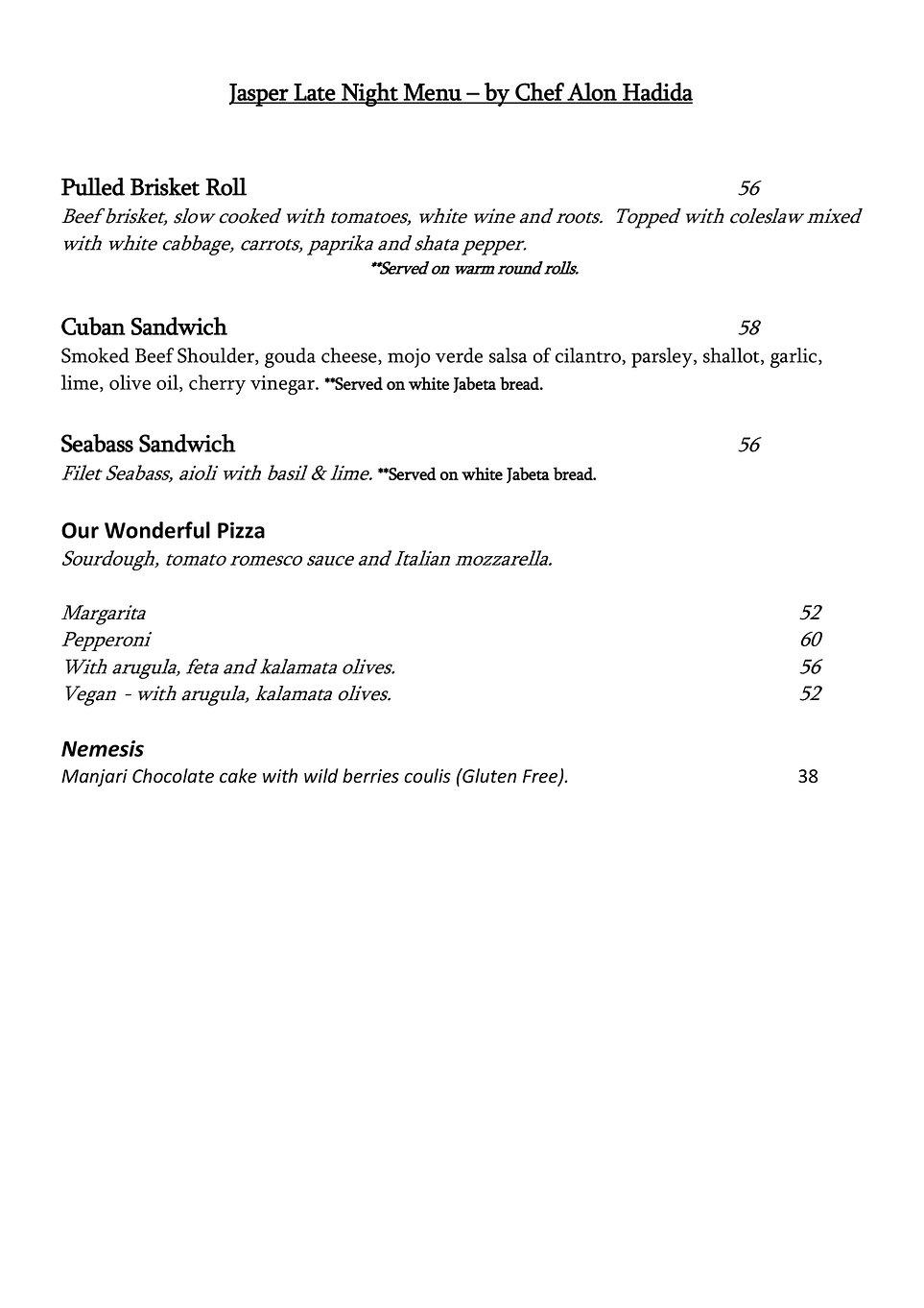 JasperJohns late night menu.jpg