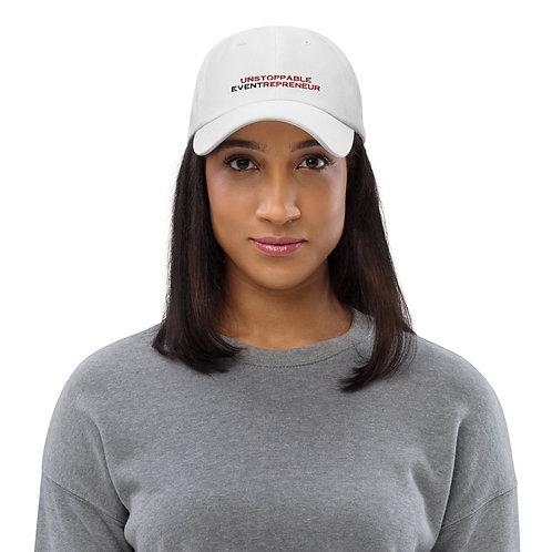 Unstoppable Eventrepreneur Hat - White
