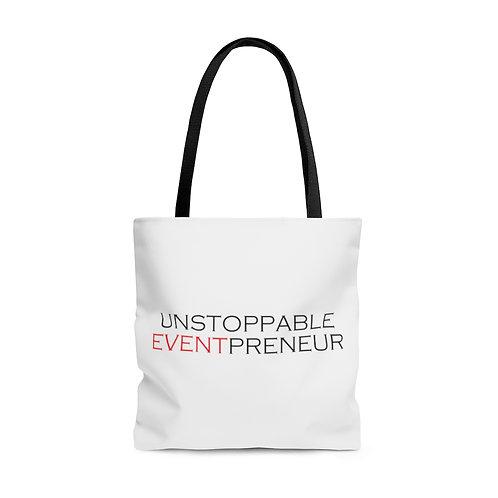 Unstoppable Eventrepreneur Tote Bag