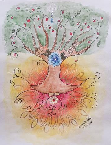 Árvore da Vida -  A4