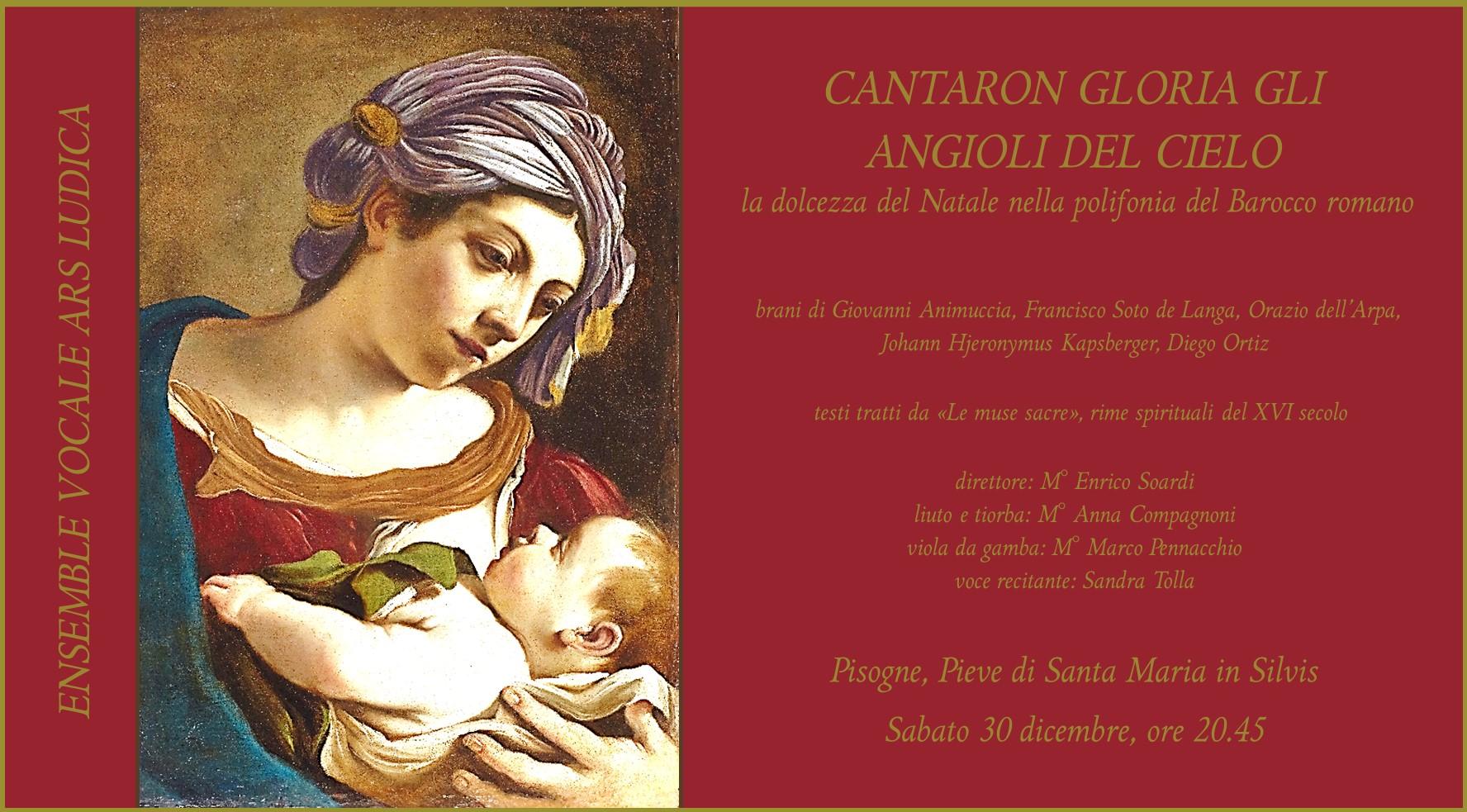 CANTARON GLORIA GL'ANGIOLI DEL CIELO
