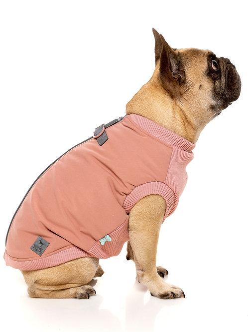FuzzYard  MacGyver Harness Dog Jacket Dusty Pink