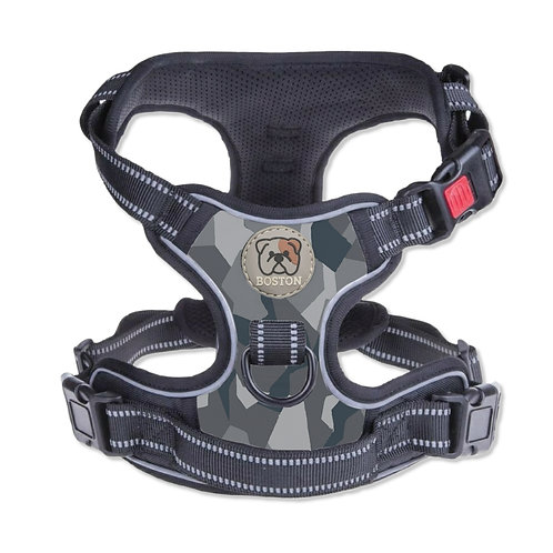 Boston Anti-Pull Dog Harness 2.0 – Grey