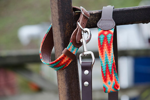 Bo Artisan Dog Collar & Lead Set                       M