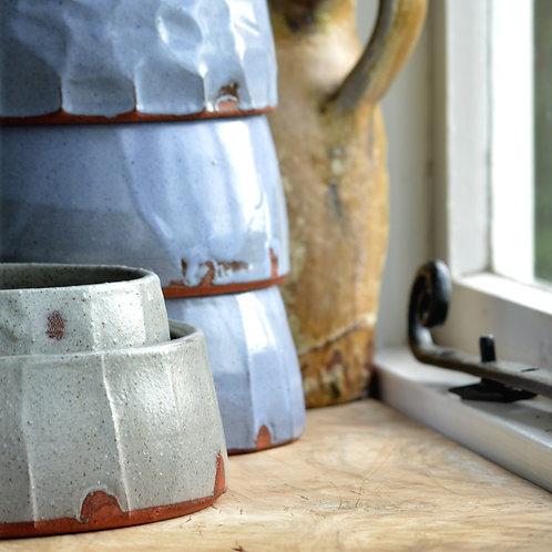 Handmade Pottery Dog Bowl