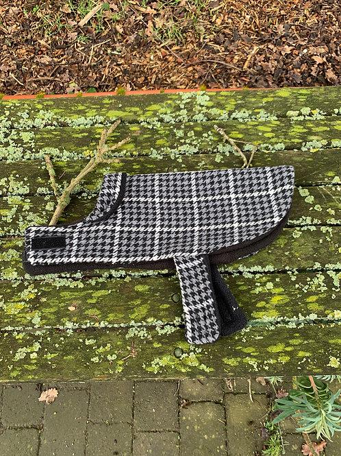 Made By Nan Check Dog Jacket