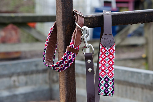 Bo Artisan Dog Collar & Lead Set
