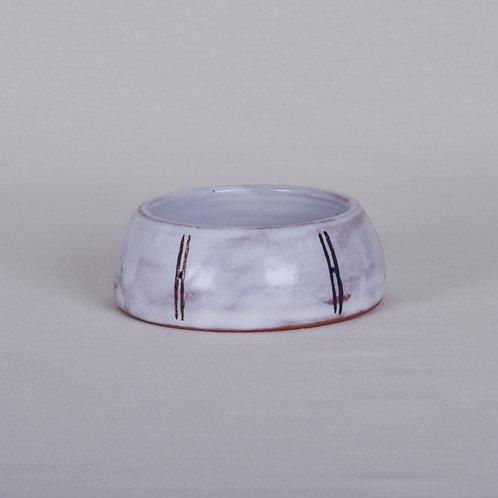 Handmade Pottery Puppy Bowl