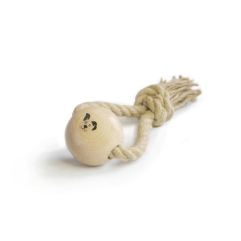 Smug Mutts Top Knot Eco Dog Toy