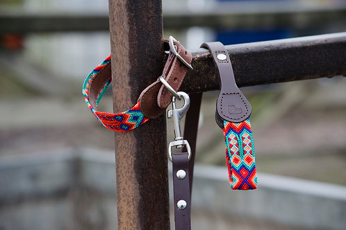 Bo Artisan Dog Collar & Lead Set                    S