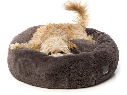 FuzzYard  Eskimo Dog Bed - Truffle Grey