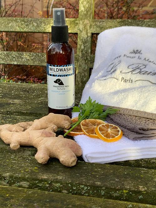 WildWash PRO Perfume Fragrance No.2 200ml With Grapefruit, Bergamot and Ginger