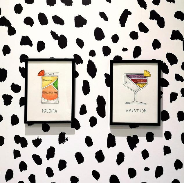 Utility room prints