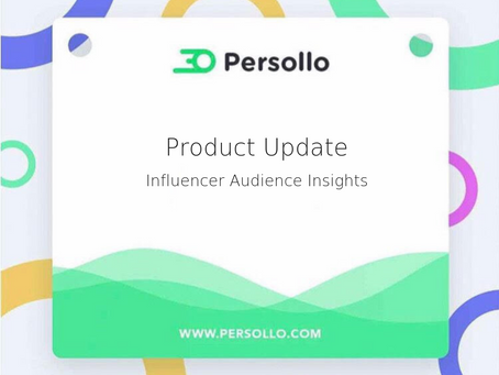 Product Update: Influencer Audience Insights
