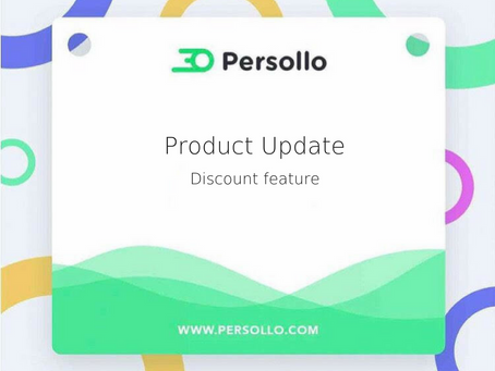 Product Update: Discount Feature