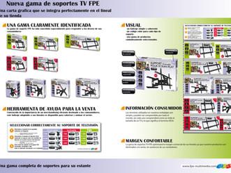 NUEVA GAMA DE SOPORTES TV FPE