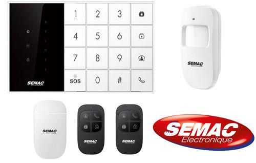 Kit alarma inalámbrica completa - 990630