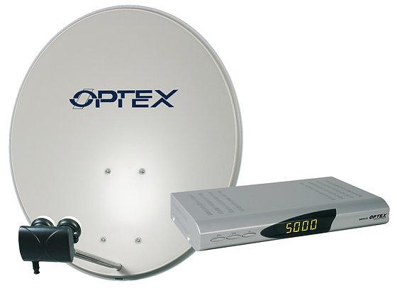 Kit satelite monobloc + receptor FTA HD - 792190