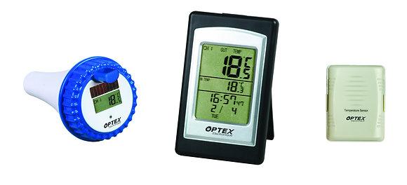 Termómetro solar piscina/spa + SONDA EXT - 990025