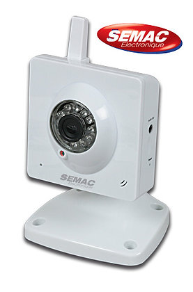 Cámara IP Wifi P2P Fija - 990500
