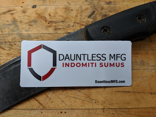 Dauntless Sticker