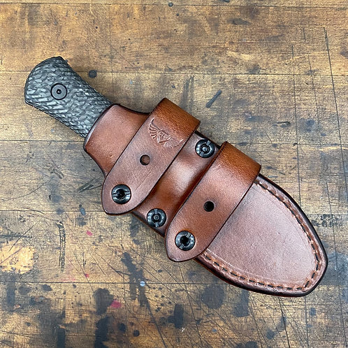 **PRE-ORDER** Matt Helm Dogbone Leather Sheath, By Chattanooga Leather Works