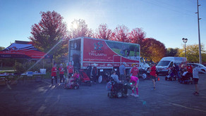 Last minute switch to virtual didn't stop these teams at the Bellin Women's Half Marathon!