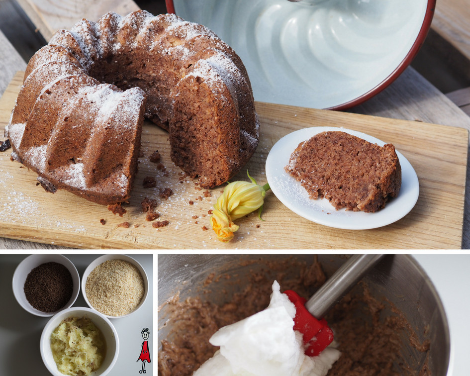Zucchini-Schokoladen-Gugelhupf
