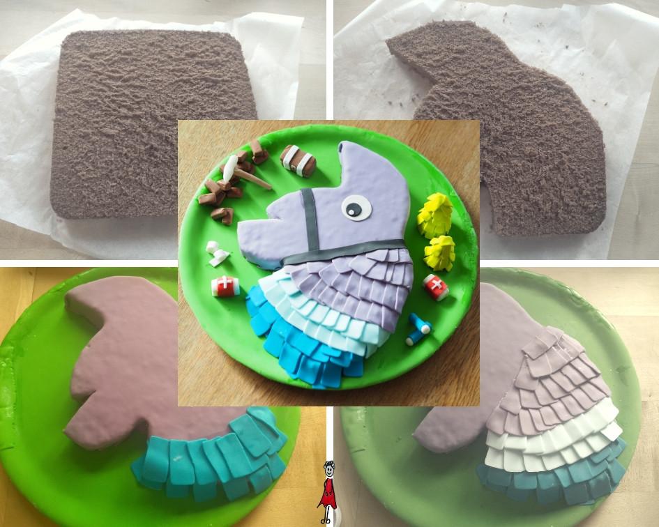 Fortnite-Lama-Torte