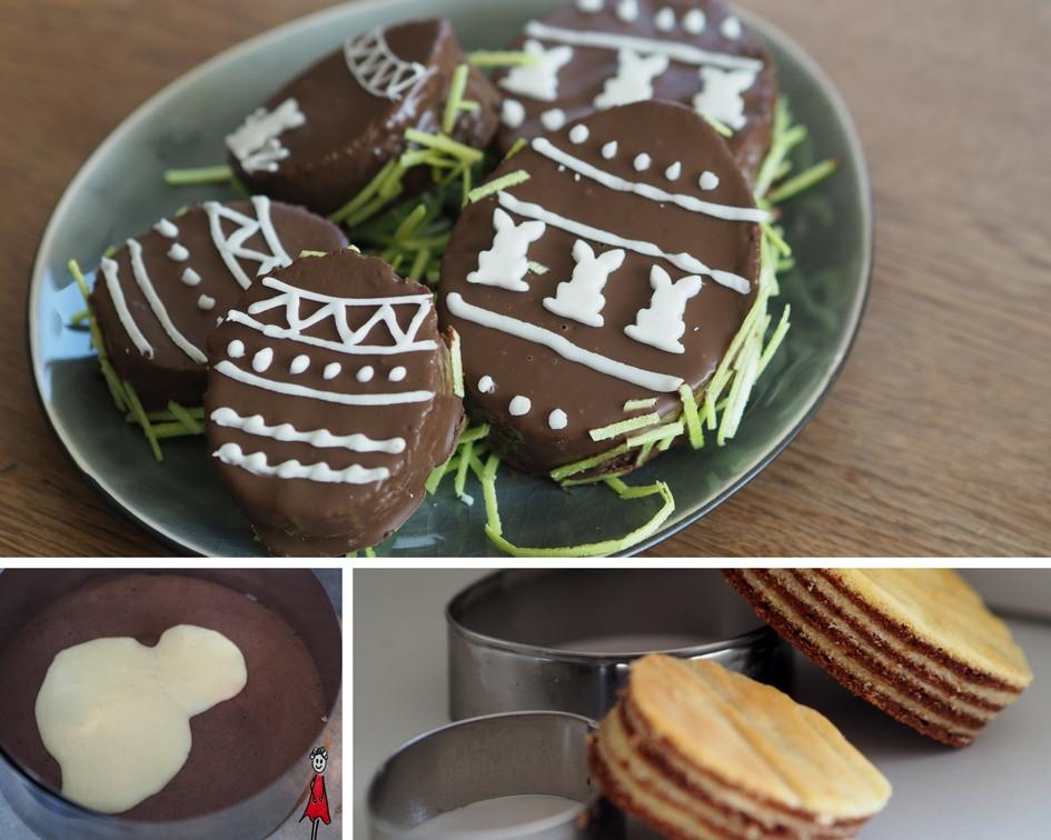 Baumkuchen - Ostereier