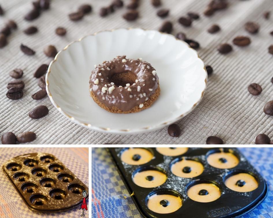 Mini-Kaffee-Donuts