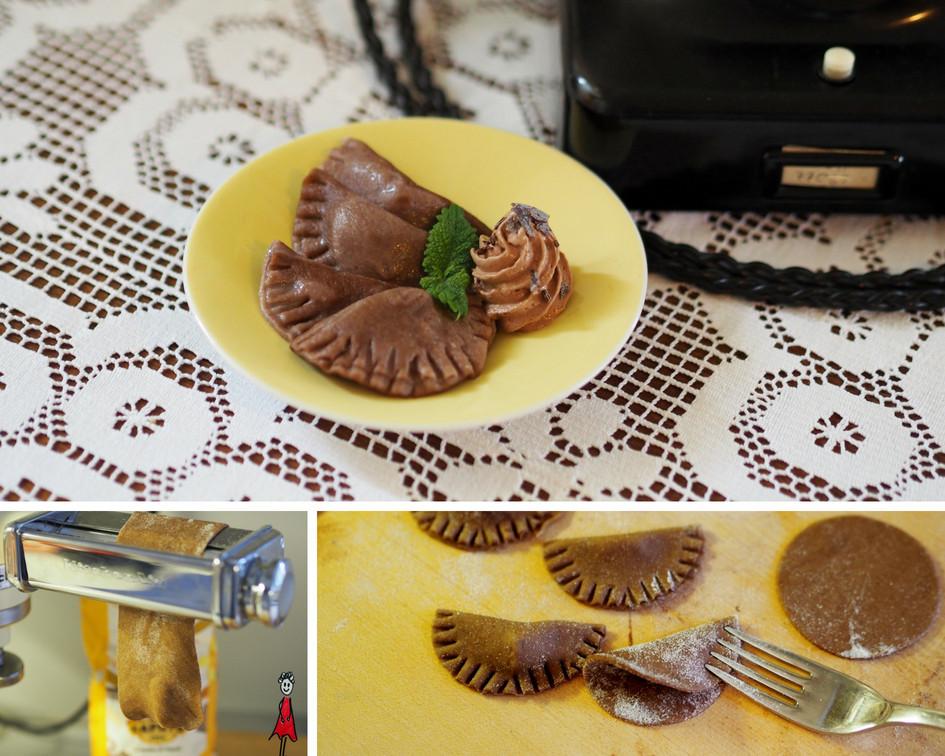 Schokoladen-Ravioli