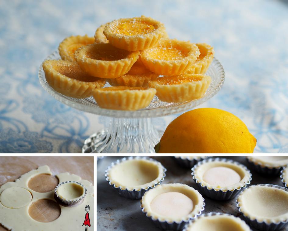 Mini-Zitronen-Tartelettes