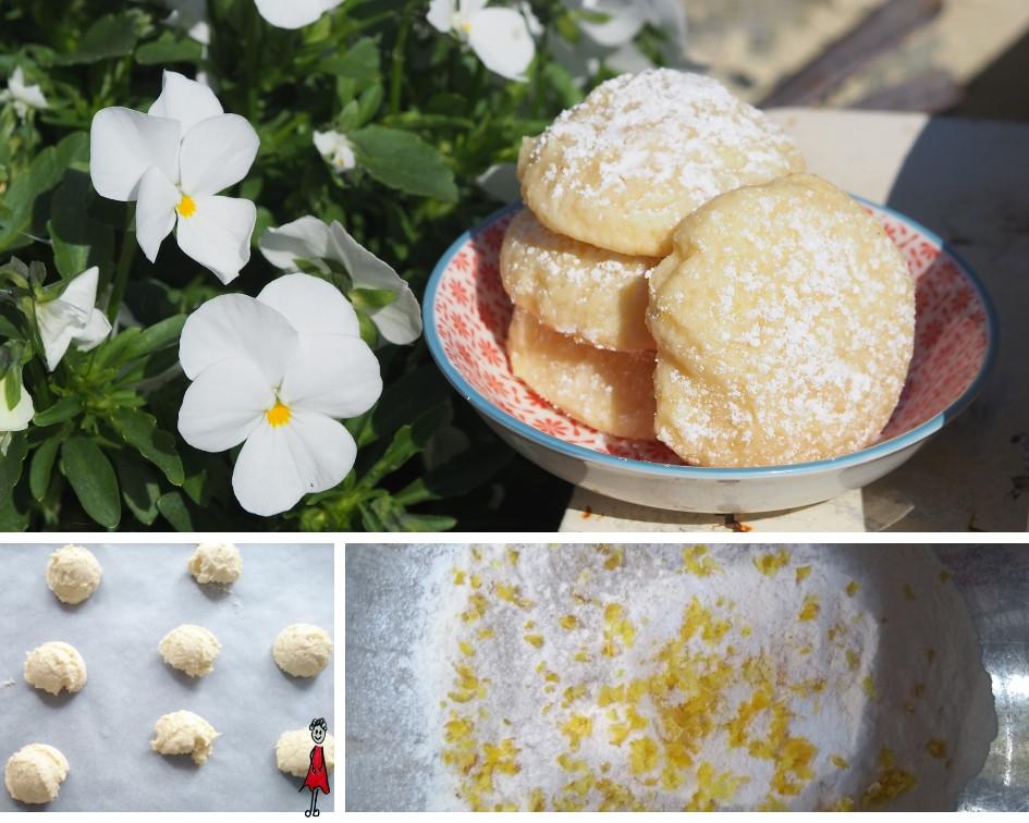 Frischkäse-Zitronen-Kekse