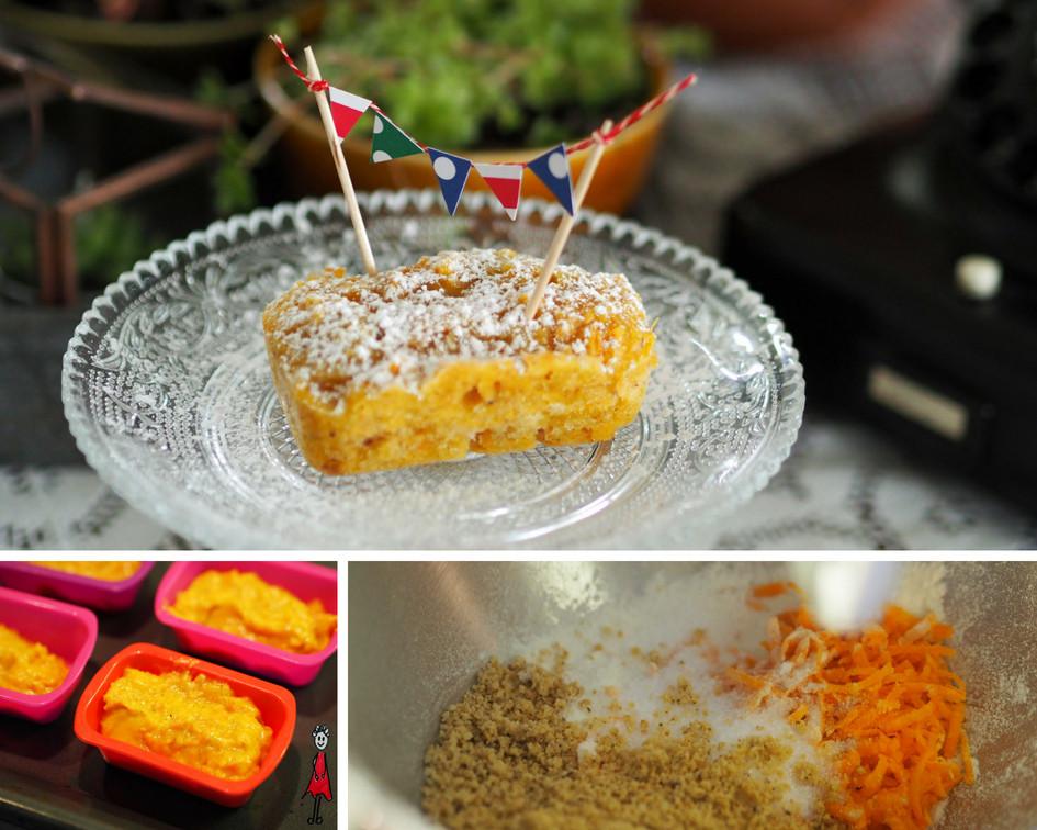 Mini-Karottenkuchen