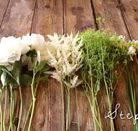 6 étapes pour attacher votre bouquet