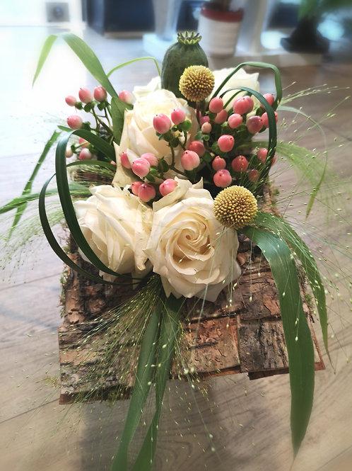 Bouquet structure bois écorces ALMA