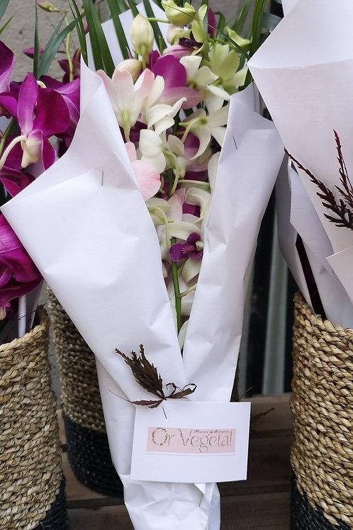 Bouquet d'orchidées Dendrobium