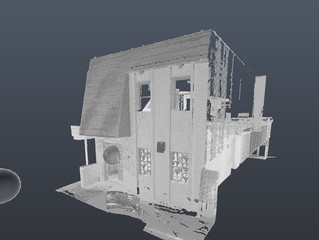 As Built Drawings from Point Clouds