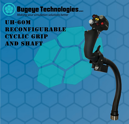 UH-60M Cyclic Grip and Shaft for Website