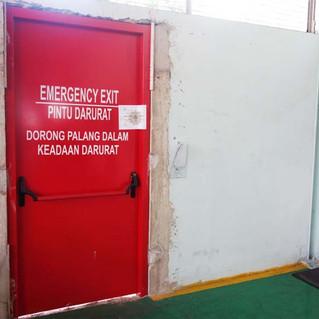 Fire Door - Pintu Tahan Api