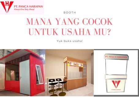 Jenis - Jenis Booth Untuk Menunjang Bisnis Kuliner
