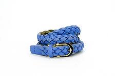 Blue Woven Belt